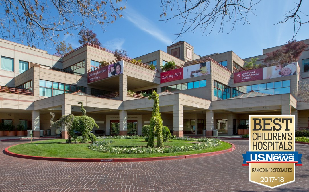 Lucile packard children s hospital stanford ranks among the nation s best in pediatric specialty