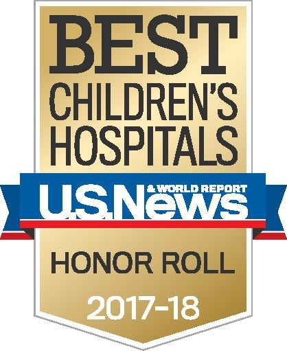 Children's National was named to the coveted Honor Roll, a distinction given to the top performing children's hospitals in the country.