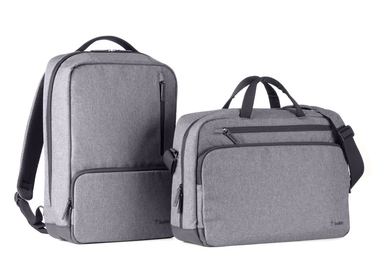Belkin today launched a suite of backpacks and messenger bags, allowing consumers to safely store and protect electronics and other prized possessions when traveling and commuting. Available in two styles, Classic Pro and Active Pro, the new bags are the ultimate all-in-one companion for consumers on the go, whether traveling for pleasure or business or going back to school.