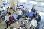 L'équipe Microdrones à Vaudreuil-Dorion, au Canada. Microdrones a également des bureaux à Siegen, en Allemagne, à Rome, à New York, ainsi que des représentants dans le monde entier. (PRNewsfoto/Microdrones)