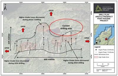 Exhibit A: Argyle Prospect Drill Plan (CNW Group/Anaconda Mining Inc.)