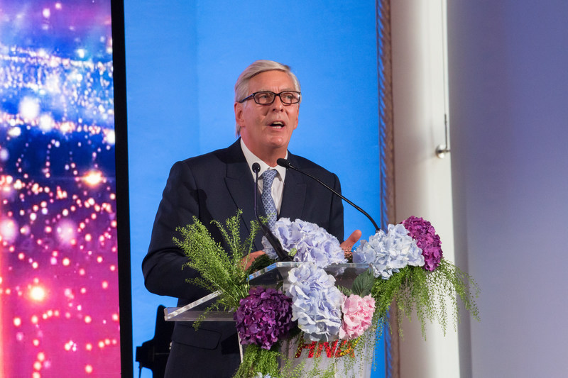 SKYTRAX President Edward Plaisted Gave a Speech