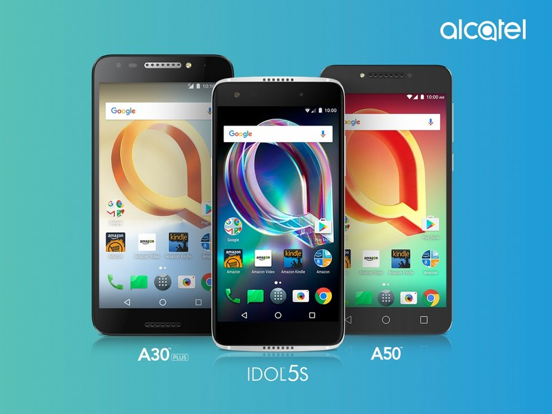 Alcatel - a top-five smartphone manufacturer in North America - today announced that the IDOL 5S, A50, and A30 PLUS are now available for pre-order on Amazon.com.