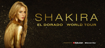 Shakira Announces EL DORADO WORLD TOUR, Presented by Rakuten