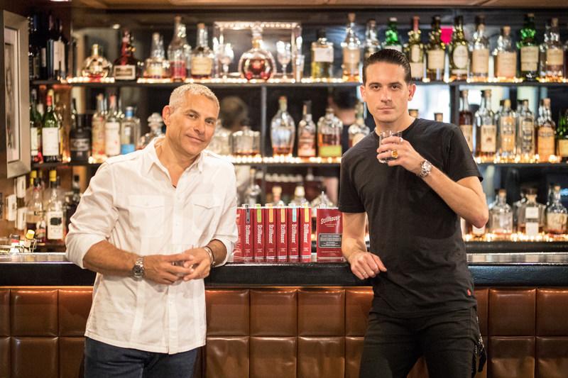 Brad Beckerman, Stillhouse CEO & Founder (left) and G-Eazy, Stillhouse Partner & Co-Creative Director (right) (Credit: R. Bernard / 335MM)