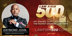 2nd Annual Law Firm 500 Award