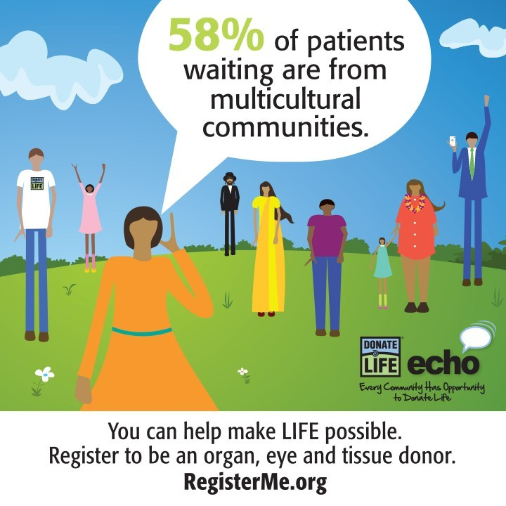 Donate Life ECHO, July 9-22, 2017
