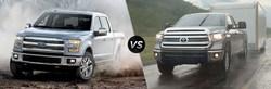 Ford vs Toyota comparisons