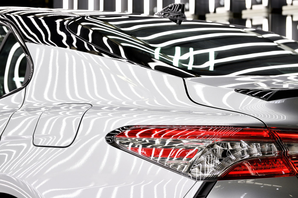 Going all in toyota kentucky launches production of cutting edge camry