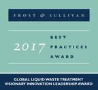 Frost & Sullivan Applauds Cutting-edge Innovation in PROXA's Liquid Waste Treatment Technologies