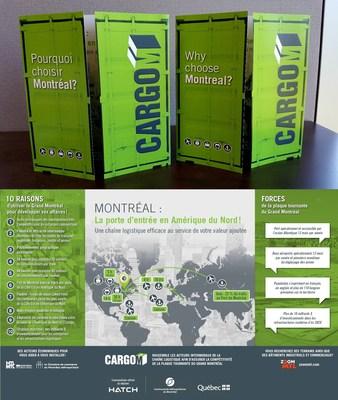 "Free brochures ""Ambassador Guide"" of CargoM available in French and English. (CNW Group/Grappe Métropolitaine de Logistique et Transport Montréal)"