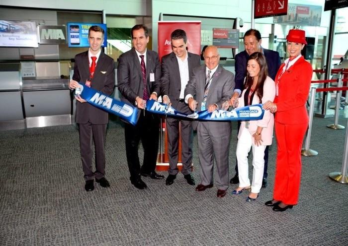 MIA celebrates launch of São Paulo service by Avianca Brasil