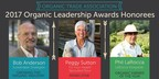 Three change-makers selected for organic leadership, innovation, and advocacy