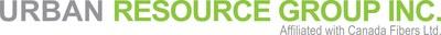 Urban Resource Group logo. An affiliated company of Canada Fibers Ltd. (CNW Group/Canada Fibers Ltd.)