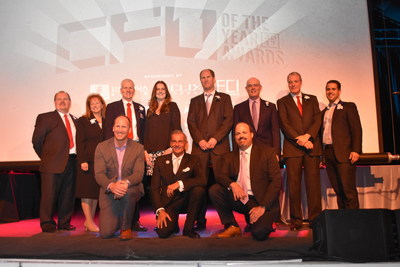 Honorees at the CFO of the Year ceremony, including Affinity Gaming CFO Walter Bogumil for Financial Executive of the Year in Gaming/Hospitality
