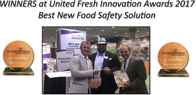United Fresh Innovation Award Winners * Best New Safety Solution 2017