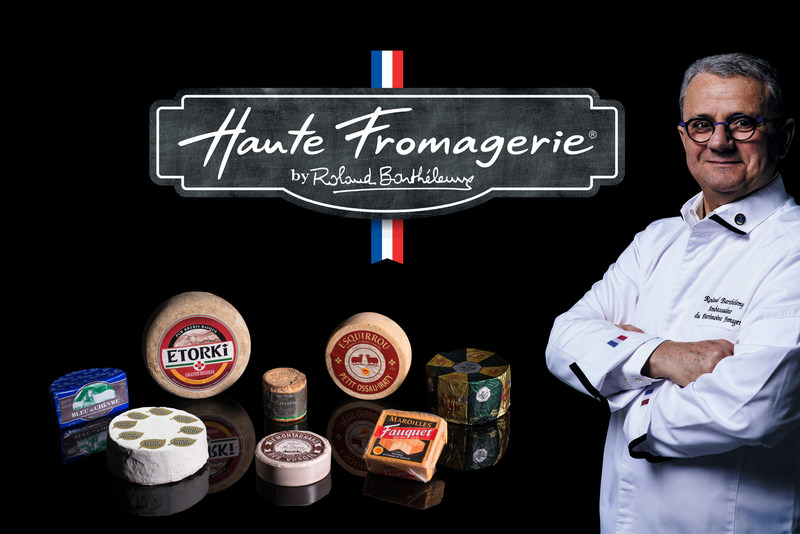 "NEW ROLAND BARTHÉLEMY SIGNATURE COLLECTION BRINGS EIGHT NEW ""HAUTE FROMAGERIE"" CHEESES FROM FRANCE TO U.S."