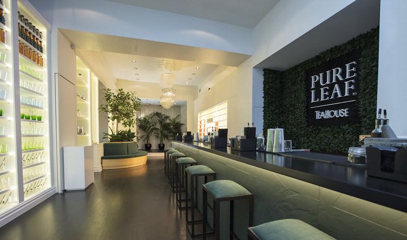 The Pure Leaf Tea House Photo Courtesy Of