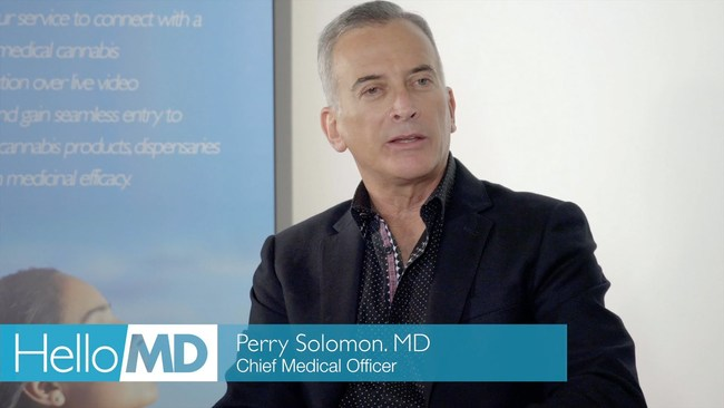 Dr. Perry Solomon, Chief Medical Officer, HelloMD
