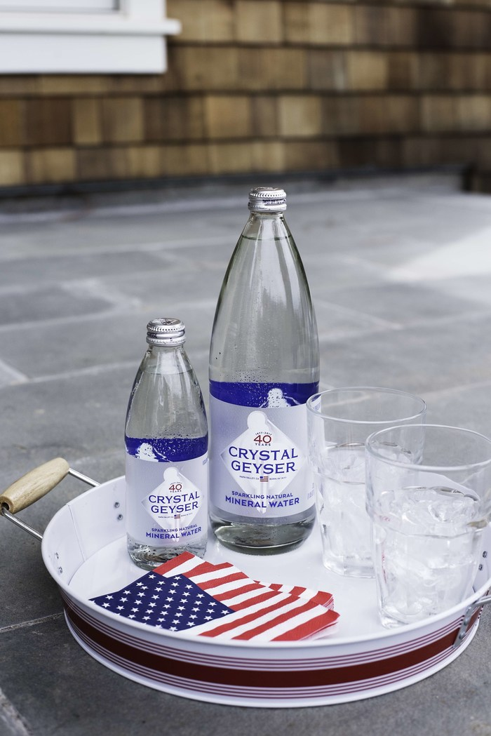 Sparkling Water Pioneer Crystal Geyser® Celebrates 40 Years in Business; Re-introduces Classic Glass Bottle