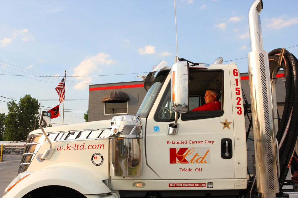 Scott Harrison, professional driver for K-Limited Carrier and an American Trucking Associations 2017-18 America's Road Team Captain