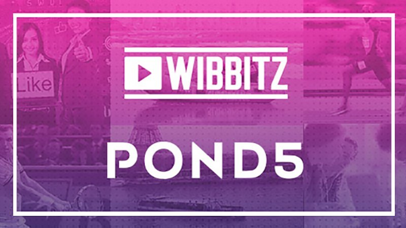 Wibbitz supplements its media library with Pond5's extensive media assets.
