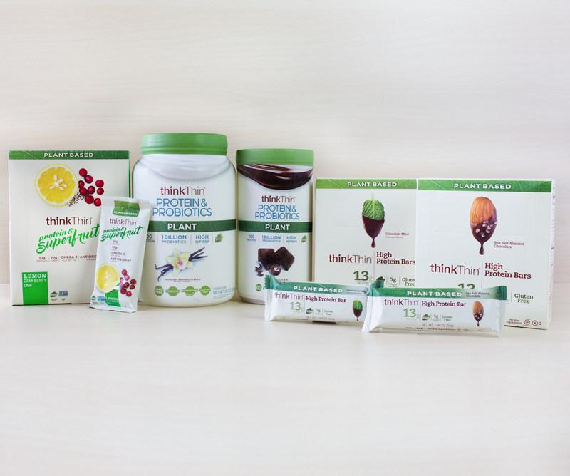 thinkThin's Plant Based Products