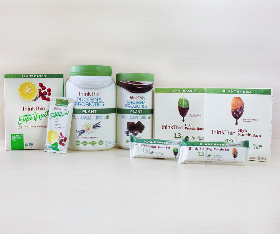 thinkThin's Plant Based Products