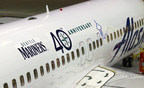 Alaska Airlines introduces Seattle Mariners-themed plane to commemorate the club's 40th anniversary