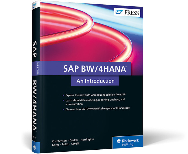 """SAP PRESS today published its introductory guide to SAP's BW/4HANA data warehousing solution. SAP BW/4HANA: An Introduction is the first English resource on a solution that SAP rolled out in August 2016 and calls its """"next-generation data warehouse."""""""