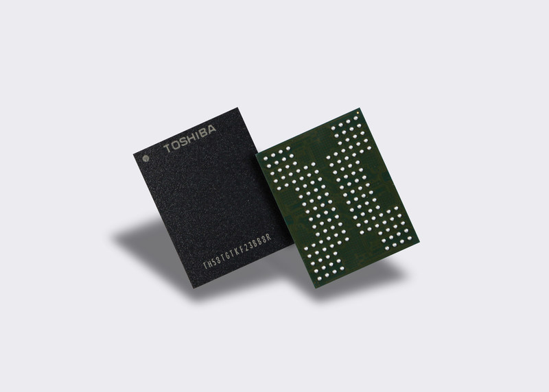 Toshiba Memory Corporation has developed the world's first QLC 3D flash memory.