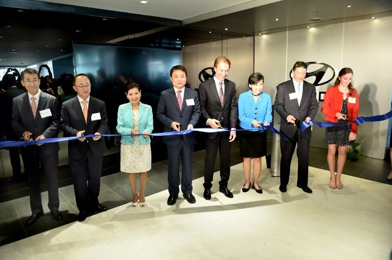 Hyundai Ribbon Cutting Ceremony to Celebrate the Opening of the New Hyundai DC Office