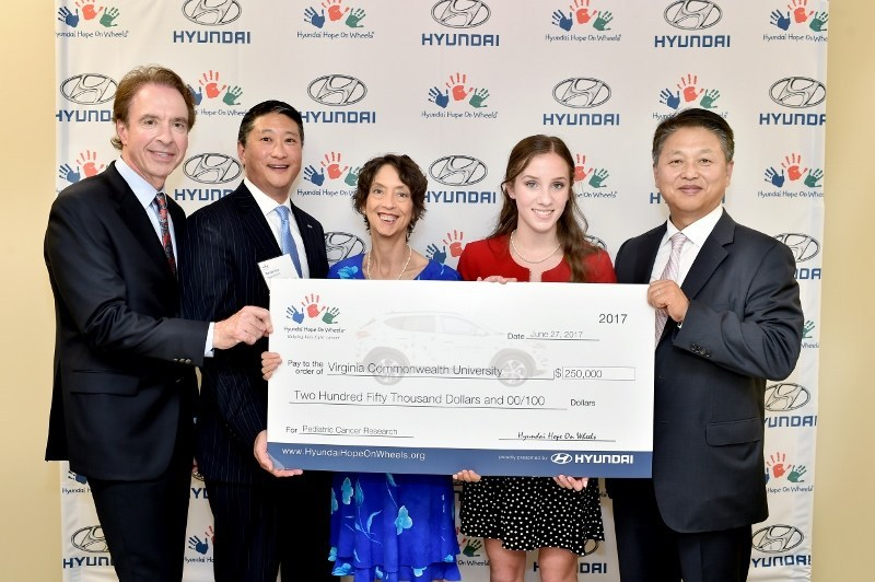 Hyundai Hope On Wheels Recipient - Virginia Commonwealth University