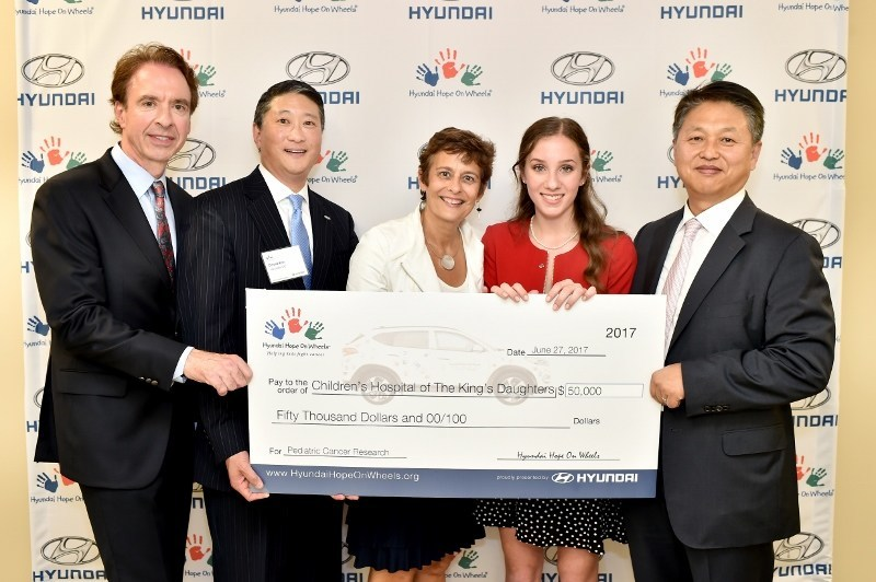 Hyundai Hope on Wheels Recipient - Children's Hospital of the King's Daughters