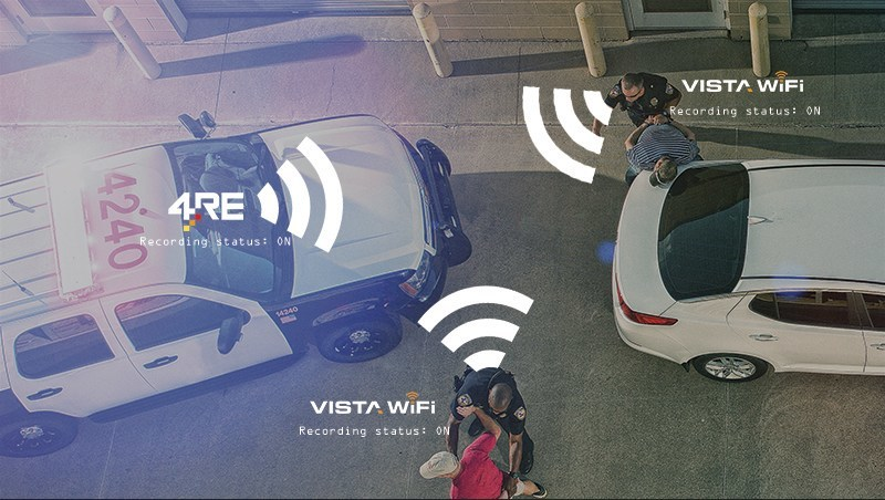 WatchGuard Video's integrated 4RE In-Car video system and VISTA WiFi Body Cameras provide multiple synchronized views on a given incident.