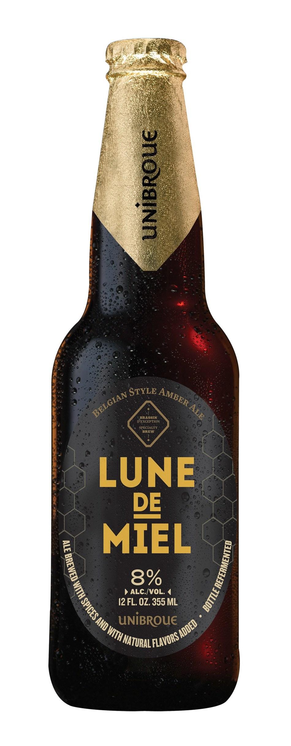 Unibroue Lune de Miel (CNW Group/Unibroue)