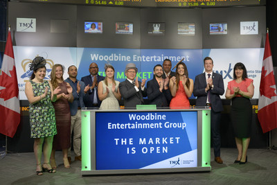 Woodbine Entertainment joined Tim McKenzie, Director, Corporate Sales, TSX Trust Company to open the market  to recognize The Queen's Plate Festival.  This event celebrates The Queen's Plate, the oldest thoroughbred horse race and the longest continuously run race in North America. This event has a tradition of food, fashion and fantastic racing that has become the talk of Toronto's social scene. This year experience the new two-day festival (July 1 & 2) featuring concerts by Our Lady Peace and the Goo Goo Dolls.  www.queensplate.com (CNW Group/TMX Group Limited)