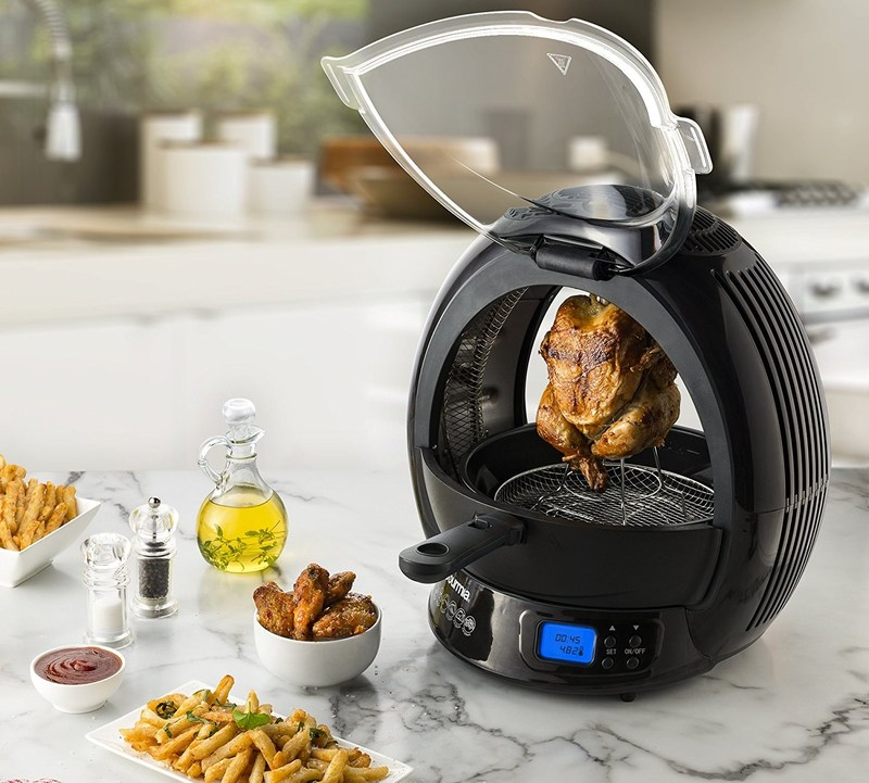 With Gourmia's GMF2600 9-in-1 Air Fryer, one can easily prepare a variety of tasty, perfectly cooked meals during 4th of July festivities!