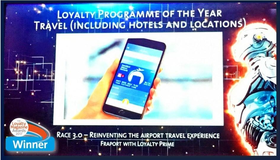Loyalty Prime wins Loyalty Magazine Award with Fraport (PRNewsfoto/Loyalty Prime)