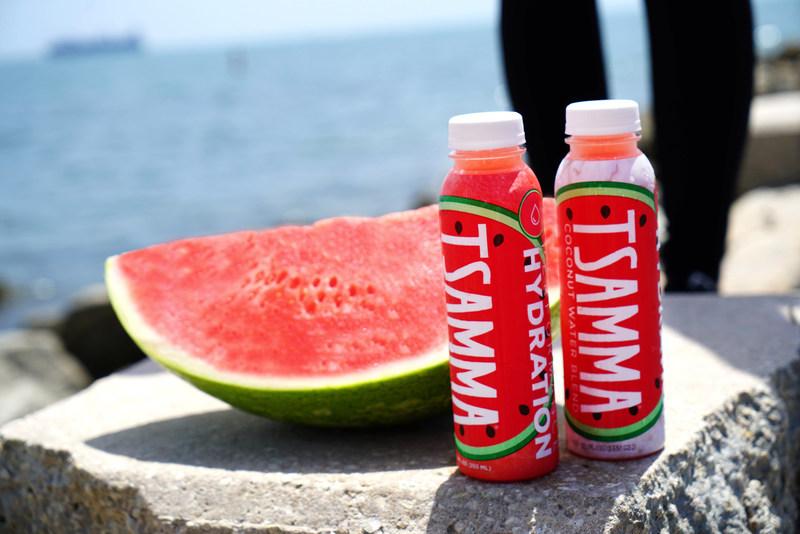 Tsamma Watermelon + Coconut Water Blend recently released by Tsamma.