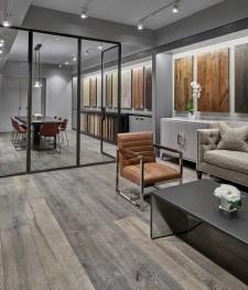 Apex wood floors opens new showroom and design center in for Hardwood floor showroom