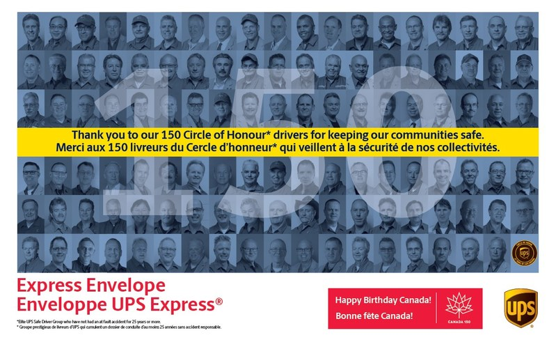Express Envelope (CNW Group/UPS Canada Ltd.)