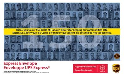 Enveloppe UPS Express® (Groupe CNW/UPS Canada Ltee.)