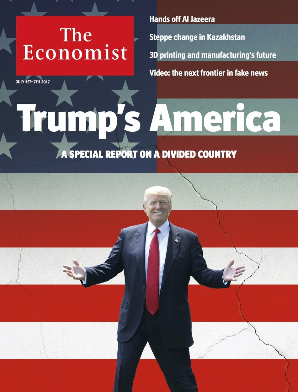 THE ECONOMIST: IN TRUMP'S AMERICA IT MAY BE A LONG WAIT FOR POLITICS TO RETURN TO NORMAL