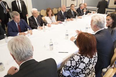 Montréal, le 28 juin 2017. – Le premier ministre, Philippe Couillard.