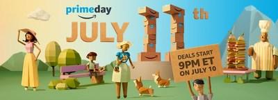 Amazon Prime Day 2017 (CNW Group/Amazon.ca)