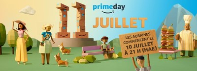 Amazon Prime Day 2017 (Groupe CNW/Amazon.ca)