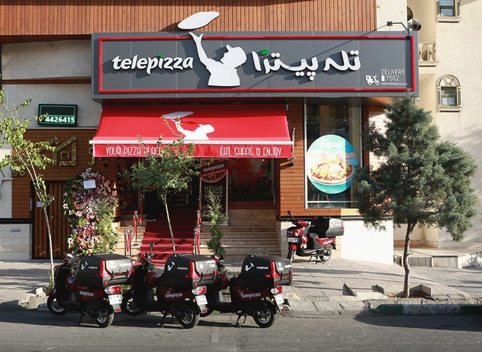 Telepizza celebrates the opening of first store in Iran (PRNewsfoto/Telepizza)