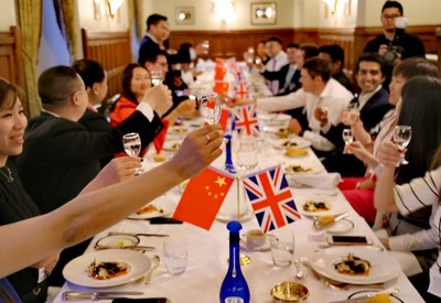 Representatives at the reception dinner at the House of Lords. (PRNewsfoto/2017 China-United Kingdom)