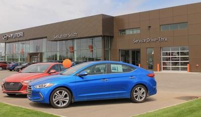 Brand-new Saskatoon South Hyundai has opened its doors (CNW Group/Hyundai Auto Canada Corp.)